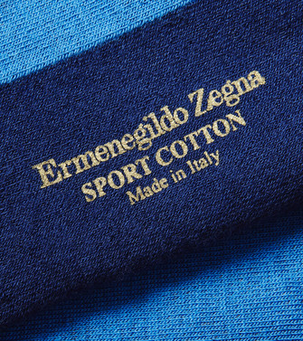 ERMENEGILDO ZEGNA: Socks Blue - 48170681OM