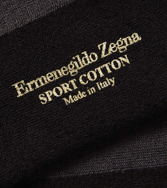 ERMENEGILDO ZEGNA: Socks Steel grey - 48170683KR