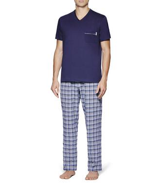 ERMENEGILDO ZEGNA: Pyjama Blue - 48170715NK
