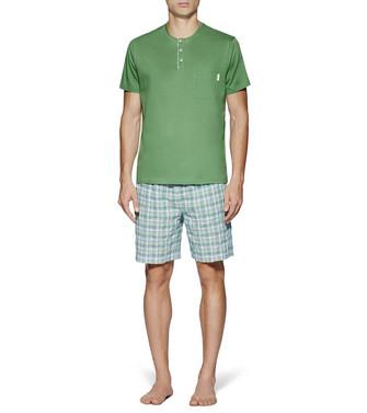 ERMENEGILDO ZEGNA: Pyjama Green - 48170716QX
