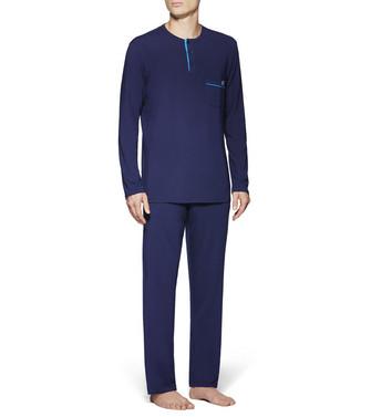 ERMENEGILDO ZEGNA: Pyjama Blue - 48170717FP