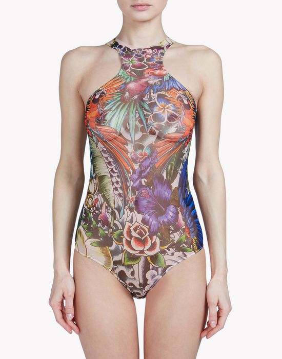 tattoo bodysuit intimo Donna Dsquared2