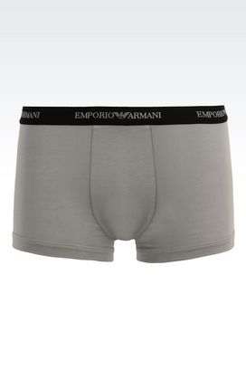 Armani Set di tre boxer Uomo set di tre parigamba in cotone stretch