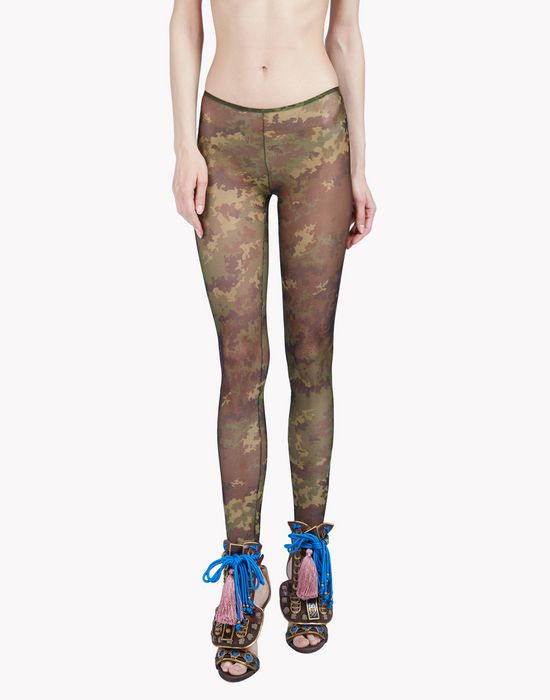 camouflage tattoo leggings underwear Woman Dsquared2