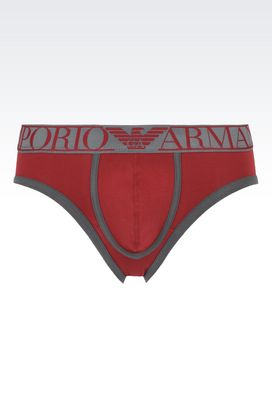 Armani Underpants Men stretch cotton brief