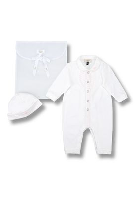 Armani All-in-ones Men all-in-one and hat set in cotton