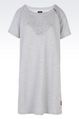 Armani Camicie da notte Donna abito t-shirt in cotone