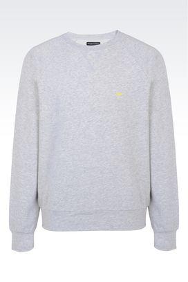 Armani T-shirt intime Uomo felpa in cotone stretch