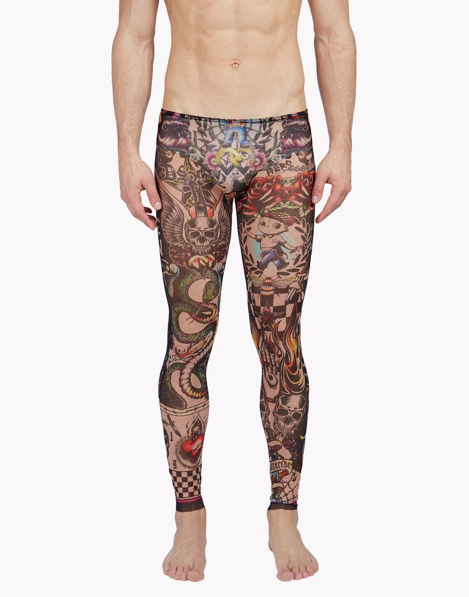 tattoo leggings underwear Man Dsquared2
