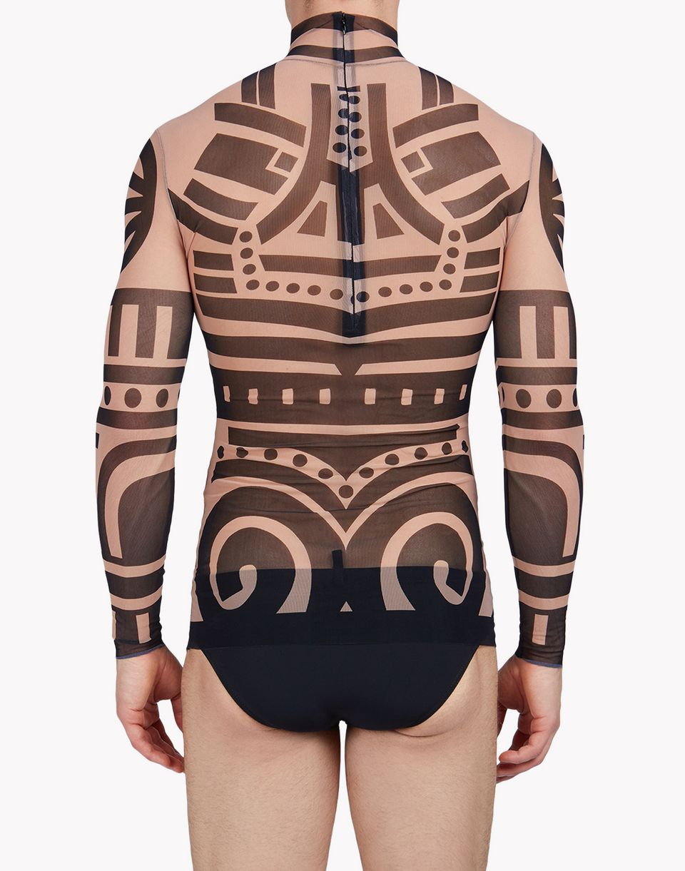 tattoo long sleeve intimo Uomo Dsquared2