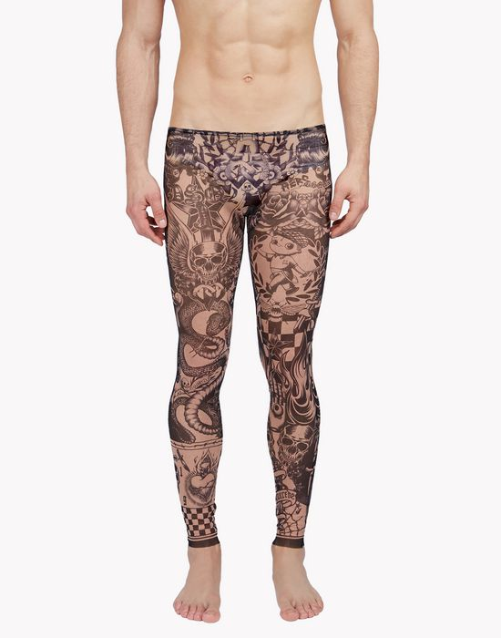 tattoo leggings intimo Uomo Dsquared2