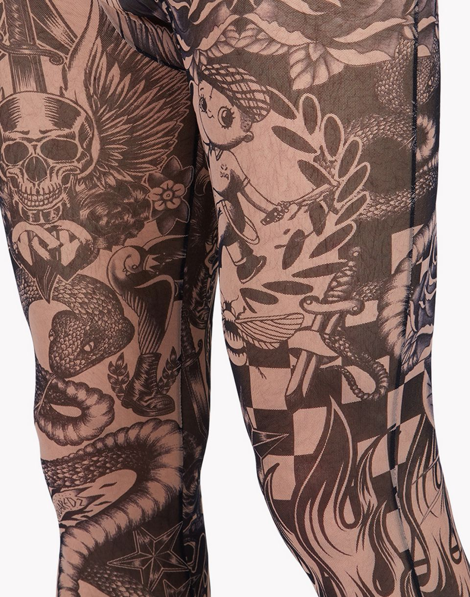 tattoo leggings underwear Man Dsquared2