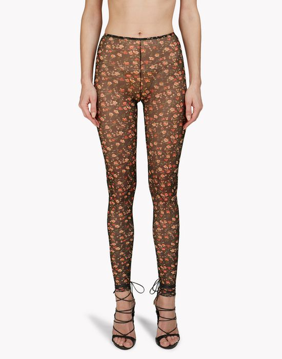 floral leggings underwear Woman Dsquared2