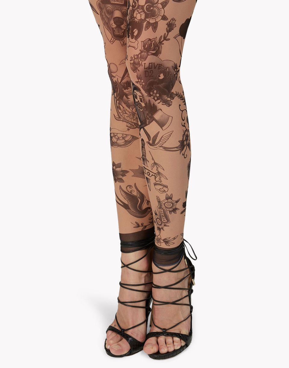 tattoo leggings underwear Woman Dsquared2