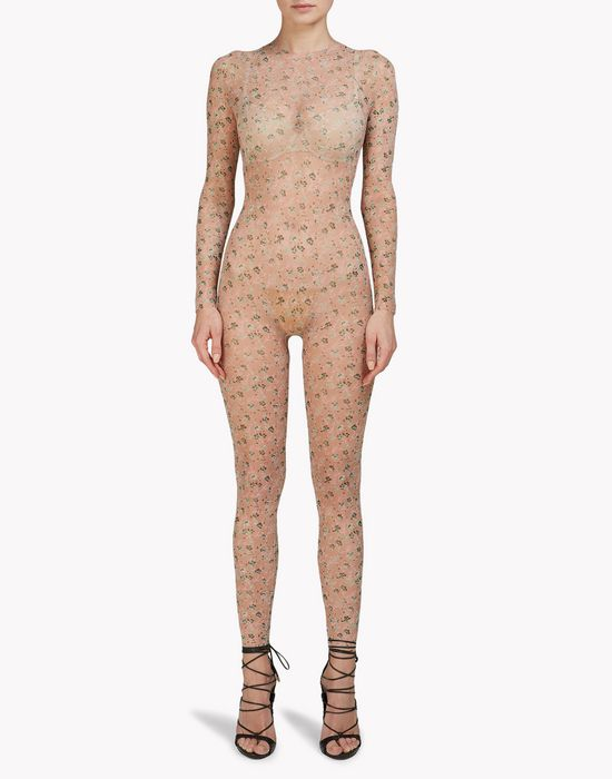 floral body jumpsuit underwear Woman Dsquared2