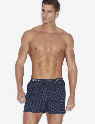 아르마니 익스체인지 Armani Exchange BOXER,Navy Blue