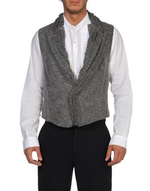 ANN DEMEULEMEESTER Men - Men's suits - Waistcoat ANN DEMEULEMEESTER on THECORNER.COM