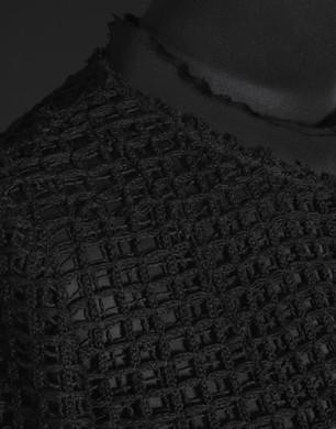 Cappottino decostruito di rete larga - Soprabiti - Dolce&Gabbana - Estate 2016