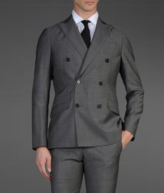 ARMANI COLLEZIONI - Double-breasted suit