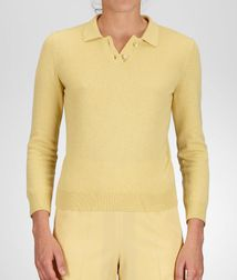 Sweater and topReady to Wear100% CashmereYellow Bottega Veneta®
