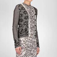 Jacquard Cotton Cardigan - Sweater and top - BOTTEGA VENETA - PE13 - 730