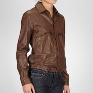 Soft Goatskin Leather Jacket - Coat or Jacket - BOTTEGA VENETA - PE13 - 3165