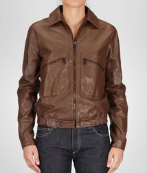 Coat or JacketReady to Wear100% LeatherBrown Bottega Veneta