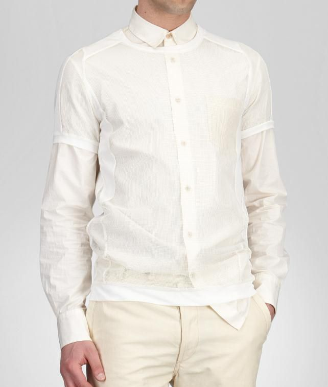 Jersey Nylon Net T-Shirt