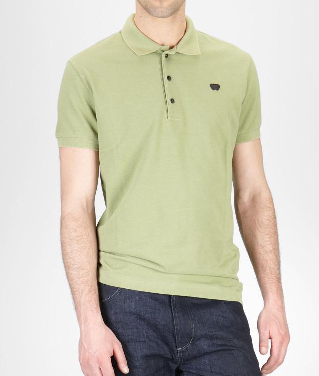 BOTTEGA VENETA Cotton Piquet Polo Shirt Tops, tees and shirts U fp