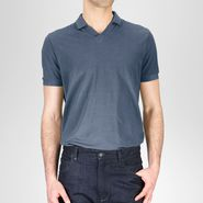 Cotton Piqu Polo Shirt - Top or Sweater - BOTTEGA VENETA - PE13 - 225
