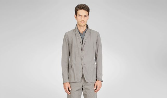 BOTTEGA VENETA - Washed Light Cotton Jacket