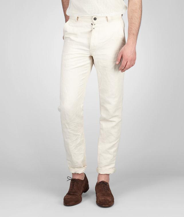 Linen Cotton Gabardine Pant