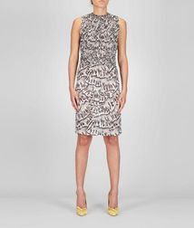 DressReady to Wear100% SilkGrey Bottega Veneta