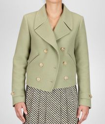 Coat or JacketReady to Wear100% CashmereGreen Bottega Veneta®