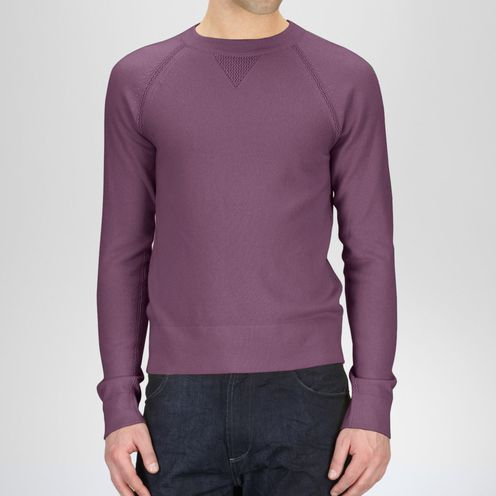 Top or SweaterReady to Wear100% CashmerePurple Bottega Veneta®