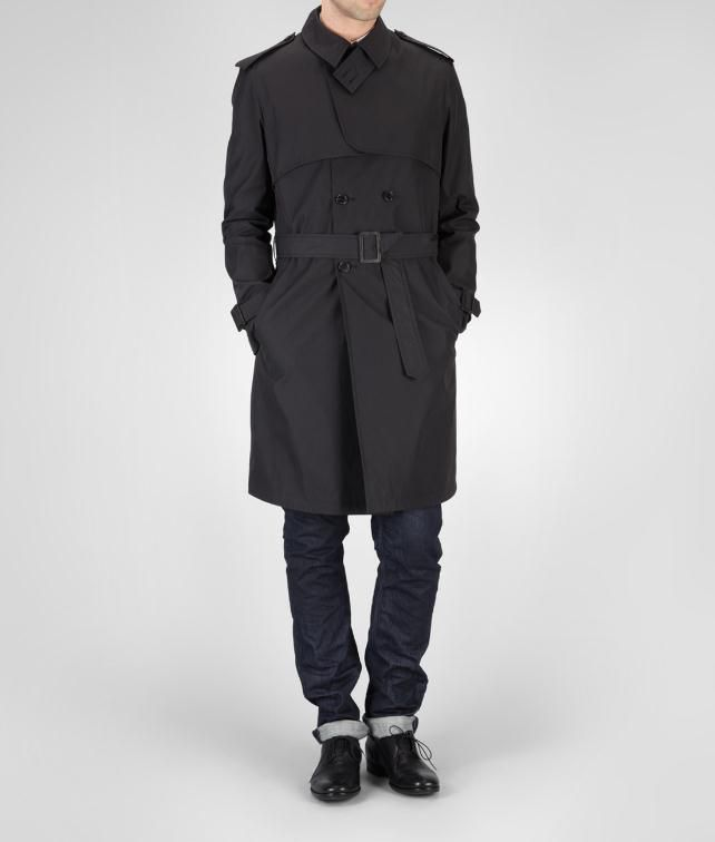 BOTTEGA VENETA Waterproof Cotton Trench Coat or Jacket U fp