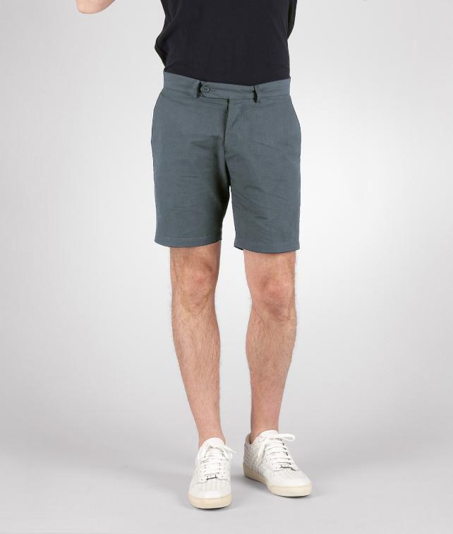 Cotton Linen Gabardine Short Pant