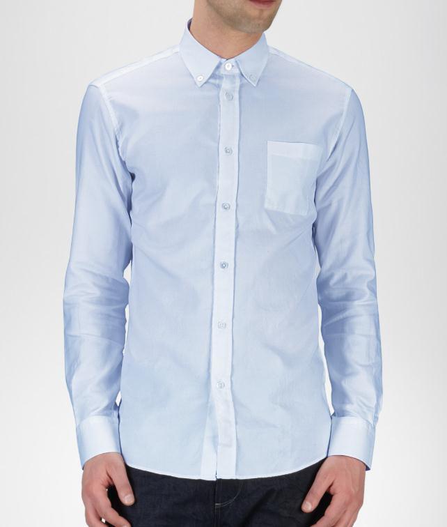 BOTTEGA VENETA Oxford Cotton Shirt Tops, tees and shirts U fp