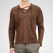 Reindeer Suede Shirt - Top or Sweater - BOTTEGA VENETA - PE13 - 2665