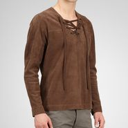 Reindeer Suede Shirt - Top or Sweater - BOTTEGA VENETA - PE13 - 4150