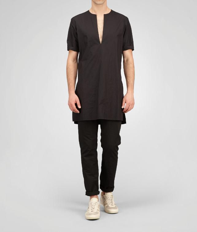 BOTTEGA VENETA Light Cotton Tunic Tops, tees and shirts U fp