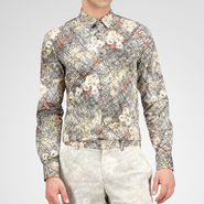 Floral Print Cotton Shirt - Top or Sweater - BOTTEGA VENETA - PE13 - 890