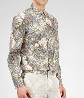 Floral Print Cotton Shirt