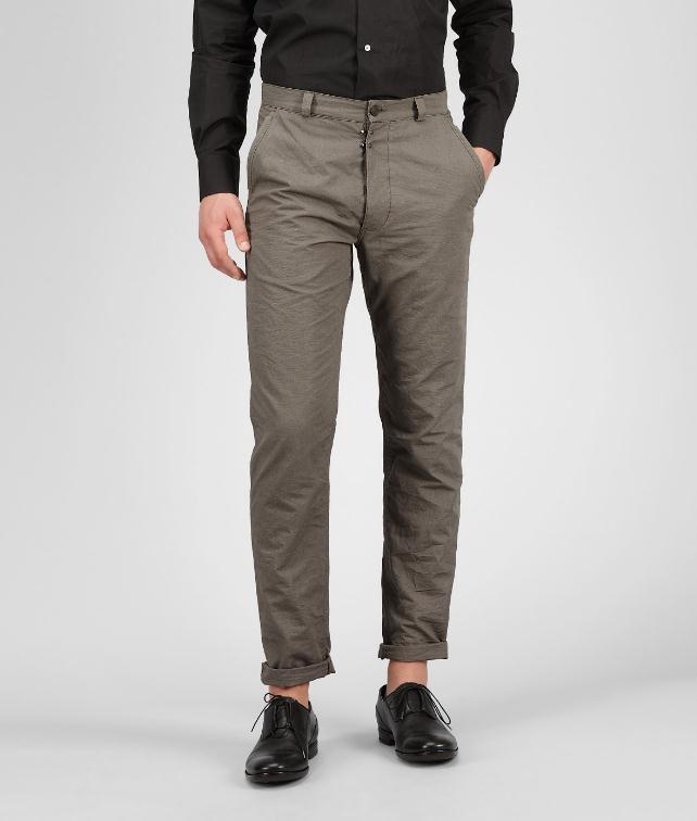 BOTTEGA VENETA Rib Cotton Pant  Trouser or jeans U fp