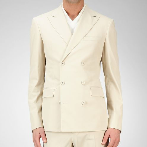 Coat or JacketReady to Wear60% Polyester, 36% Cotton, 4% PolyurethaneWhite Bottega Veneta®