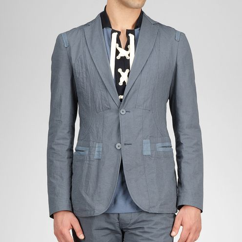 Coat or JacketReady to Wear100% CottonBlue Bottega Veneta®