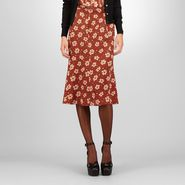 Crepe Silk Marguerite Print Skirt -  - BOTTEGA VENETA - PE13 - 730