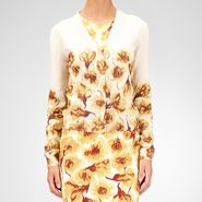 Cashmere Tulip Print Sweater - Sweater and top - BOTTEGA VENETA - PE13 - 1175