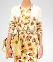Cashmere Tulip Print Sweater