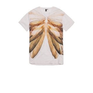 McQ, T-Shirt, Wing Rib-Cage Print T-shirt